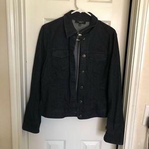 Talbots denim woman's jacket size 16
